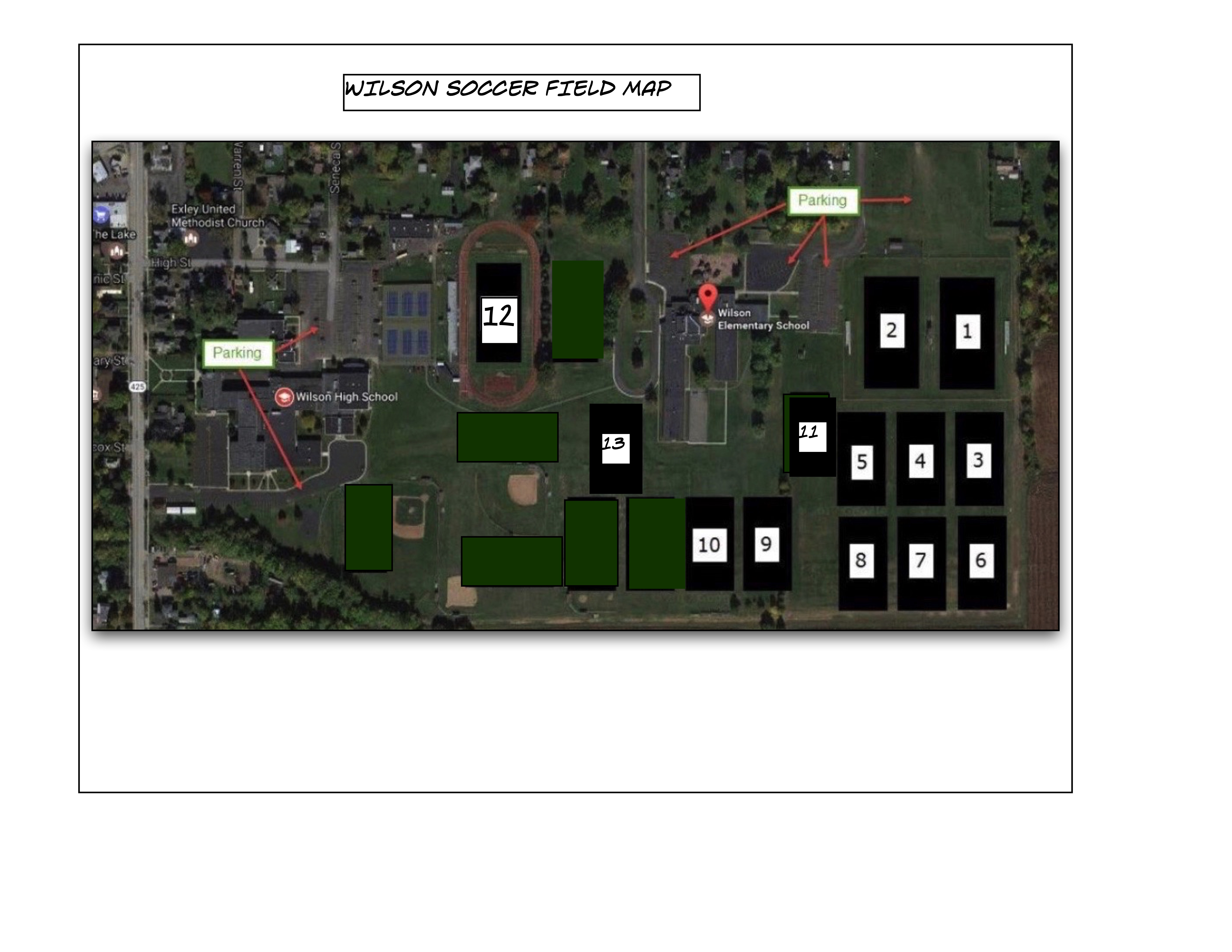 new field map